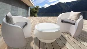 mobiliers de jardin le blog du design exterieur With mobilier de jardin plastique 18 lampes design