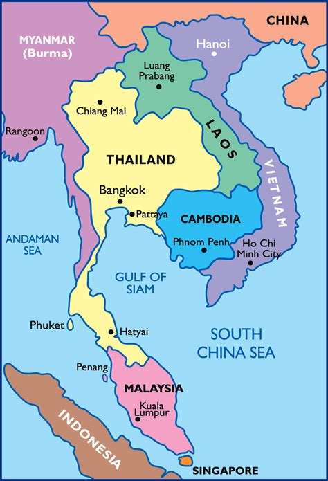 maps  thailand map library maps   world
