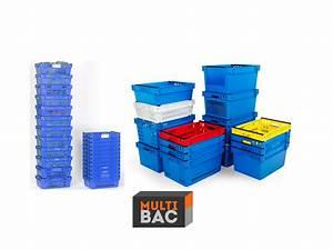 Bac Plastique Ajouré : bac emboitable 70 sp cial picking multibac ~ Edinachiropracticcenter.com Idées de Décoration
