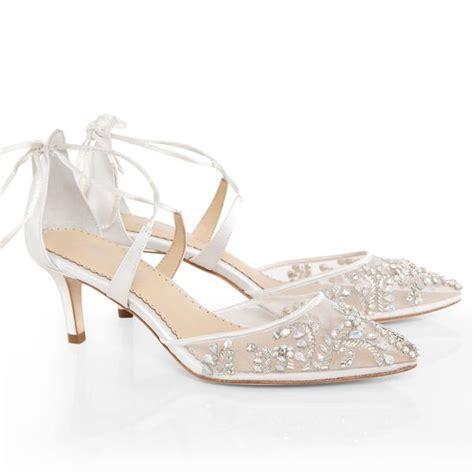 wedding shoes low heel frances luxury kitten heel wedding shoe 1126