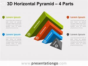 3d Horizontal Pyramid For Powerpoint