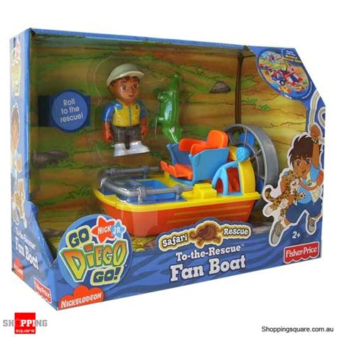 Fan Boat Price by Fisher Price Go Diego Go To The Rescue Fan Boat