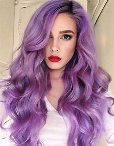 Purple Hairstyles That Will Make You Want Mermaid Hair