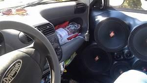 10000 Watt Sound System  Fiat 600 Seicento 4 12s Phonocar