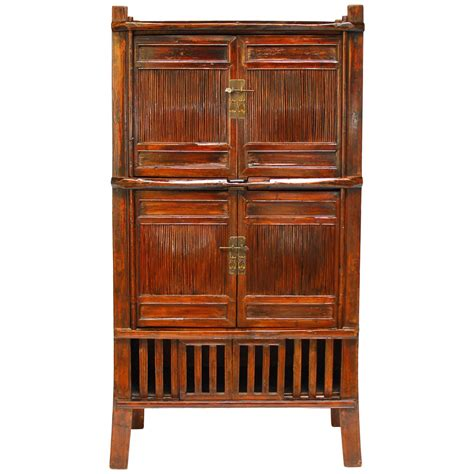 Chinese Bamboo Kitchen Cabinet For Sale At 1stdibs