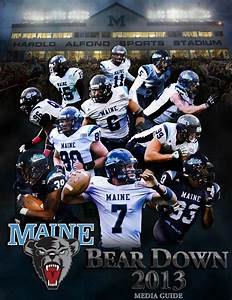 2013 Maine Football Media Guide By University Of Maine Athletics Department