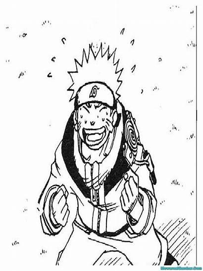 Naruto Gambar Mewarnai Coloring Printable Semua Sasuke
