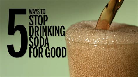 ways  stop drinking soda  good southern living