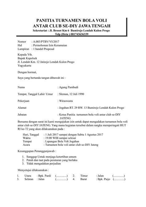 Contoh Surat Permohonan Izin Keramaian Untuk Kepolisian Makeup
