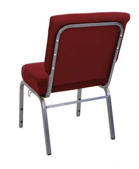 am cc maroon 20 inch padded church chair the furniture