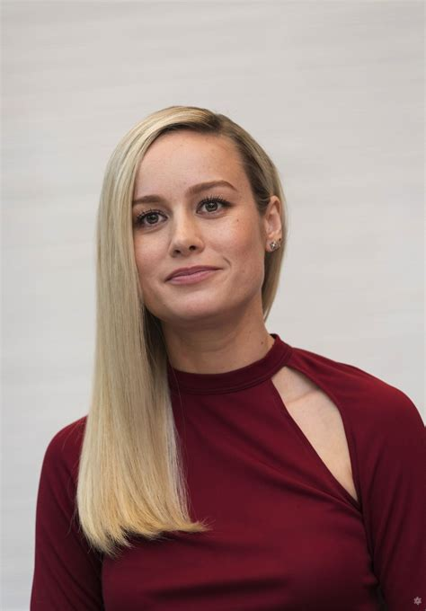 Brie Larson Avengers Endgame Press Conference Los
