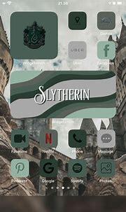 Slytherin icon | Iphone wallpaper app, Ios app iphone ...