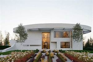 villa agalarov par sl project pres de moscou russie With maison en forme de u 7 magnifique extension bois avec piscine interieure