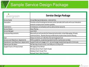19 images of itil service design package template With itil service catalogue template