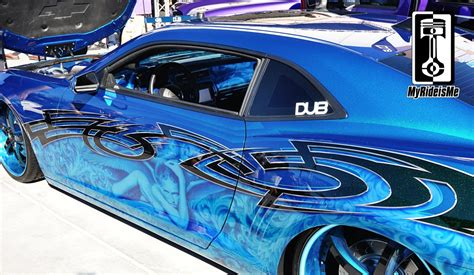 Sema 2012  Cool Rides #4  Wicked Custom Paint Jobs