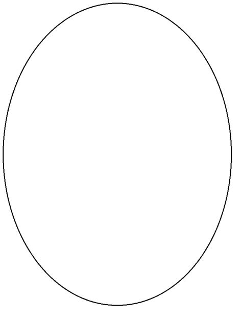 oval simple shapes coloring pages coloring page book  kids shape coloring pages