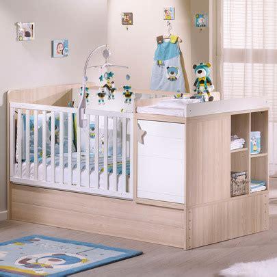 chambre alibaby sauthon lit transformable 70x140 chêne de sauthon baby 39 s