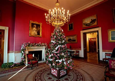 melanias white house christmas decorations  magical