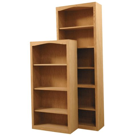 Arch Bookcase by Fitr Arch Top Wood Bookcases
