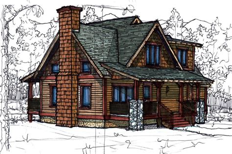 Cottage Style House Plan 3 Beds 2 5 Baths 1510 Sq/Ft