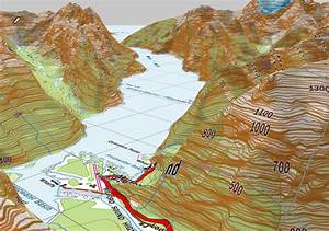 3d Topographical Map | www.pixshark.com - Images Galleries ...
