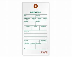 inventory tags and inventory labels With inventory tag template