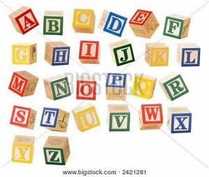 alphabet blocks image cg2p421281c With individual wooden letter blocks