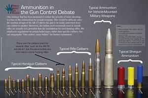 Ammunition Comparison Chart One Caliber Many Bullets Bullet Size Chart Bullet Caliber