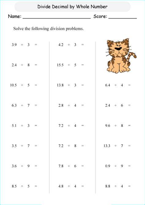 fun decimal worksheets activity shelter