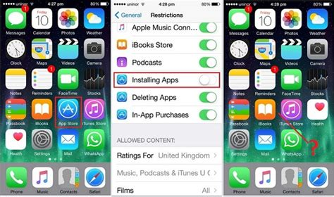 how to apps on iphone how to disable app install and delete on iphone 6