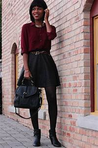 20 Style Tips On How To Wear Skater Skirts In The Winter - Gurl.com   Gurl.com