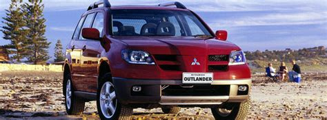 2003 Mitsubishi Outlander Review by Used Mitsubishi Outlander Review 2003 2004 Carsguide