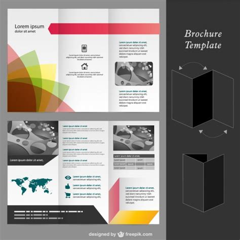 Brochure Vector Mock Up Template Millions Vectors Brochure Vector Mock Up Template Millions Vectors