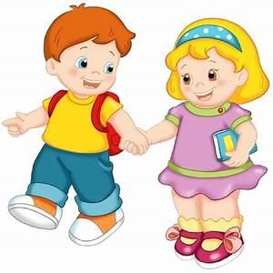 School Children - Cartoon Picture Images