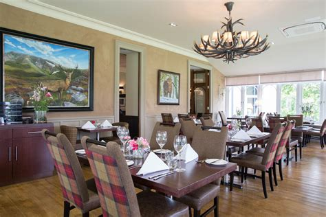 The Dining Room At Muckrach Country House Hotel