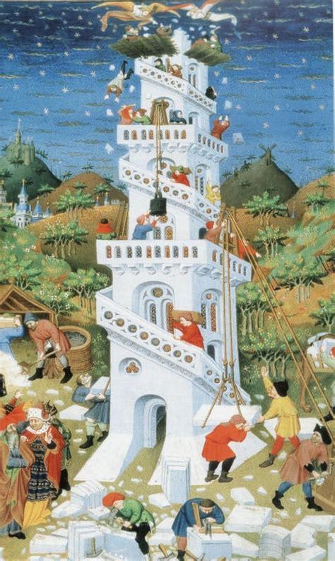 la tour de babel contes et l 233 gendes de la bible de mich 232 le kahn courelle1