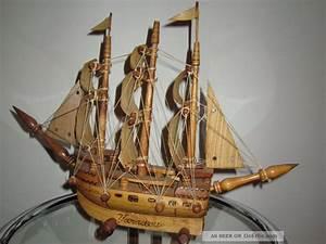 Schiff Basteln Holz : holz schiff deko schiff segelschiff kunsthandwerk segeljacht piraten ~ Frokenaadalensverden.com Haus und Dekorationen