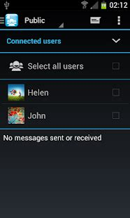 wifi chat file share groups apk  pc