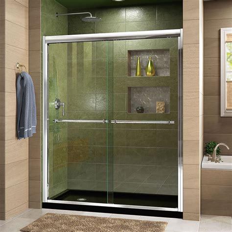 shower doors glass frameless gliding   home