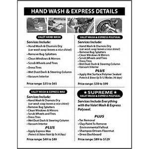 mobile home interior trim car detailing services flyer