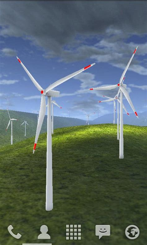 Windmill Wallpaper Animated - wind turbines 3d live wallpaper free android apps on
