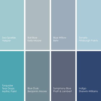 blue paint picks for kitchens clockwise from top left 1 sea sparkle 5003 7b from valspar 2