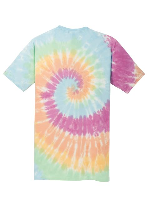 port company tie dye tee  cotton  shirts