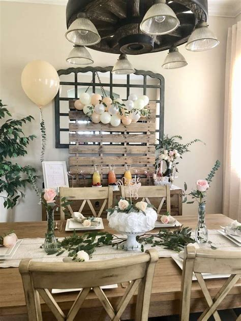 Rustic Bridal/Wedding Shower Party Ideas Photo 1 of 44