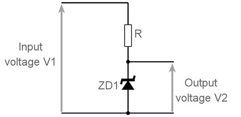 zener diode circuits design electronics notes