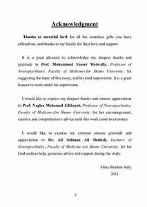 how to write acknowledgements in a dissertation With phd thesis acknowledgement template