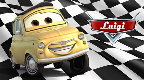 Disney Cars Characters  Luigi # Test Drive # Youtube