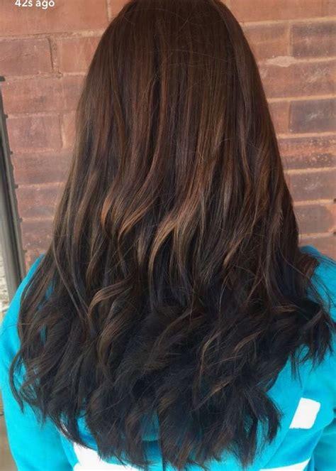 brunette reverse ombre hair hair styles hair ombre