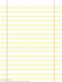 highlighted handwriting paper great modification  lisa sanderock