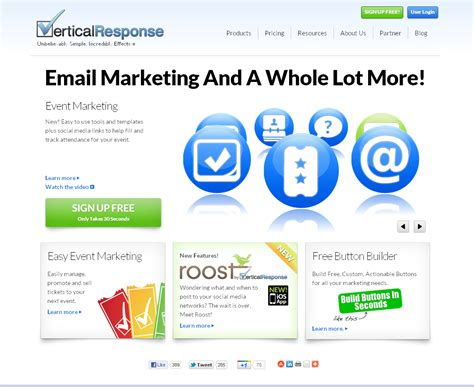 Vertical Response Templates by Getresponse Vs Vertical Response 194 Which Is The Best One